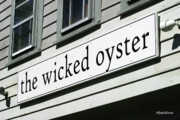 Wellfleet Posters - The Wicked Oyster Wellfleet Cape Cod Massachusetts Poster by Michelle Wiarda