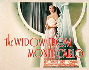 Dolores Posters - The Widow From Monte Carlo, Dolores Del Poster by Everett