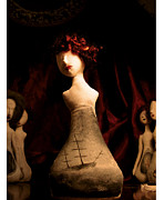 Print Jewelry Metal Prints - The Widow Metal Print by Zelde Grimm