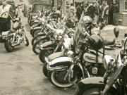 Harley Davidson Photo Originals - The Wild Ones by Bernadette Claffey
