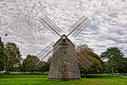 N.y. Art - The Windmill In East Hampton by Linda Pulvermacher