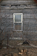 Old House Photo Originals - The Window by James Steele