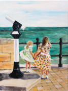 Telescope Originals - The Windy Day by Mike Paget