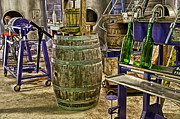 Wine Making Posters - The Winery Poster by Cheryl Cencich