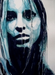 Face  Paintings - The Winner Takes It All by Paul Lovering