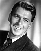 1952 Movies Metal Prints - The Winning Team, Ronald Reagan, 1952 Metal Print by Everett