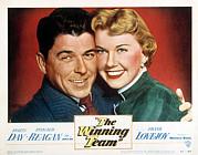 The Winning Team, Ronald Reagan, Doris Print by Everett