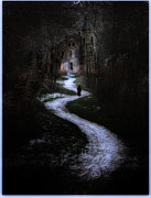 Creepy Digital Art Metal Prints - The Witchs House Metal Print by Hazel Billingsley