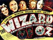 Scarecrow Posters - The Wizard Of Oz, Judy Garland, Frank Poster by Everett