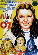 Lion Poster Prints - The Wizard Of Oz, Spanish Movie Poster Print by Everett