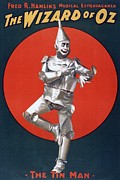 The Tin Man Posters - The Wizard Of Oz, The First Stage Poster by Everett