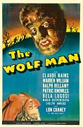 Wolfman Framed Prints - The Wolf Man, Evelyn Ankers, Lon Framed Print by Everett