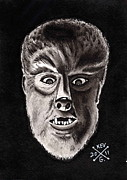Universal Monsters Posters - The Wolfman Poster by Kevin  Guinn