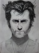 Xmen Paintings - The Wolverine by Mohammed Shareef