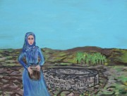 Rememberance Originals - The Woman At The Well by Clare Ventura