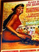 Old Mexico Photo Posters - The Woman from Plaza Jose Poster by Olden Mexico