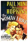 Jbp10ma21 Prints - The Woman I Love, Miriam Hopkins, Paul Print by Everett
