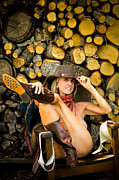 Nude Naked Female Nipple Women Breast Photos - The Wood Pile by N Taylor