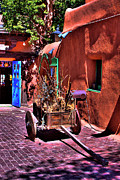 Taos Photos - The Wooden Cart by David Patterson