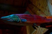 LeeAnn McLaneGoetz McLaneGoetzStudioLLCcom - The Wooden Rainbow Trout