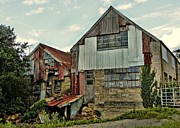 Julie Williams Metal Prints - The Woodmill Metal Print by Julie Williams
