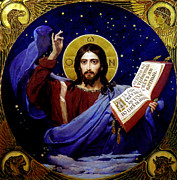Victor Paintings - The Word by Victor Vasnetsov