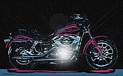 Cruiser Digital Art Prints - The Work Horse Print by Wayne Bonney