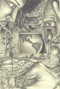The World Cries Print by Karen Musick
