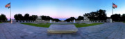 National Park Service Prints - The World War II Memorial Print by Don Lovett