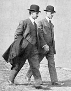 Wright Photos - The Wright Brothers, Us Aviation Pioneers by Science, Industry & Business Librarynew York Public Library