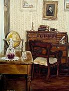 Secretariat Paintings - The Writing Room by Carole Spandau