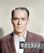 1950s Portraits Photo Metal Prints - The Wrong Man, Henry Fonda, 1956 Metal Print by Everett