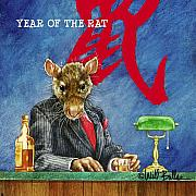 Happy Hour Prints - The Year of the Rat... Print by Will Bullas