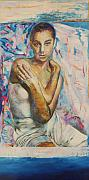 The Ballet Painting Originals - The Young Dancer by Alan Berda