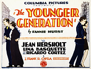 Newscanner Framed Prints - The Younger Generation, Jean Hersholt Framed Print by Everett