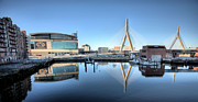 Zakim Framed Prints - The Zakim Framed Print by JC Findley