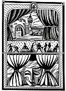 Theater Print by Inga Vereshchagina