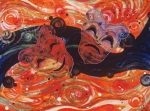 Theatre Painting Originals - Theatric Swirl by Shellton Tremble