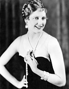Bracelet Framed Prints - Thelma Todd, Ca. 1920s Framed Print by Everett