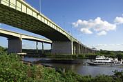 Warrington Prints - Thelwall Viaduct, Uk Print by Mark Sykes