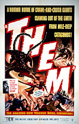 Horror Movies Photos - Them 1954, Poster Art by Everett