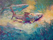 Flyfishing Painting Originals - Them Bones by Mike Savlen
