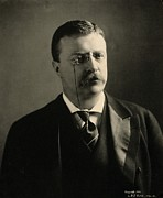 Us Presidents Prints - Theodore Roosevelt In 1902, Shortly Print by Everett