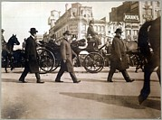 Inauguration Photos - Theodore Roosevelt In Carriage by Everett
