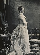 1880s Photos - Theodore Roosevelts First Wife Alice by Everett