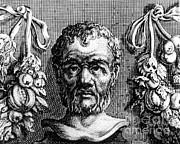 Theophrastus, Ancient Greek Polymath Print by Photo Researchers