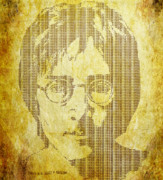 John Lennon  Art - There is a Magi in Imagine by Laura Brightwood