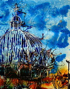 Dome Paintings - There is but one Church by Cathy S R Read