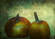Sarah Vernon Metal Prints - There Were Never Such Devoted Pumpkins Metal Print by Sarah Vernon