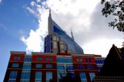 Nashville Tennessee Prints - There where modern and old architecture meet Print by Susanne Van Hulst